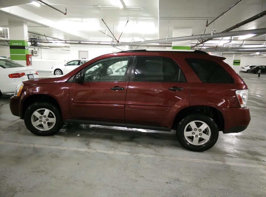 10 499 2009 chevrolet equinox ls for sale by owner low mileage saanich victoria mobile. Black Bedroom Furniture Sets. Home Design Ideas