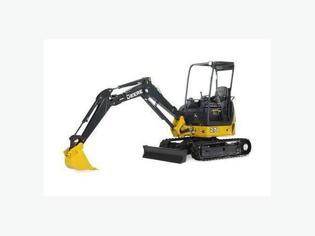 Mini-Excavator Services in Regina and Area North Regina, Regina