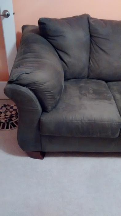 Sofa Ashley Furniture New Olive Green Surrey Incl