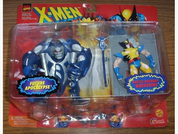 TOYBIZ MARVEL DOUBLE PACK - LTD. ED. (1997) (only 6,000 pieces made)