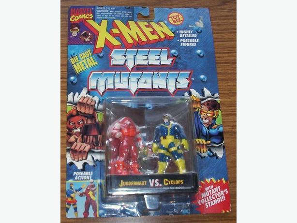 X-MEN STEEL MUTANTS - JUGGERNAUT VS. CYCLOPS (1994)