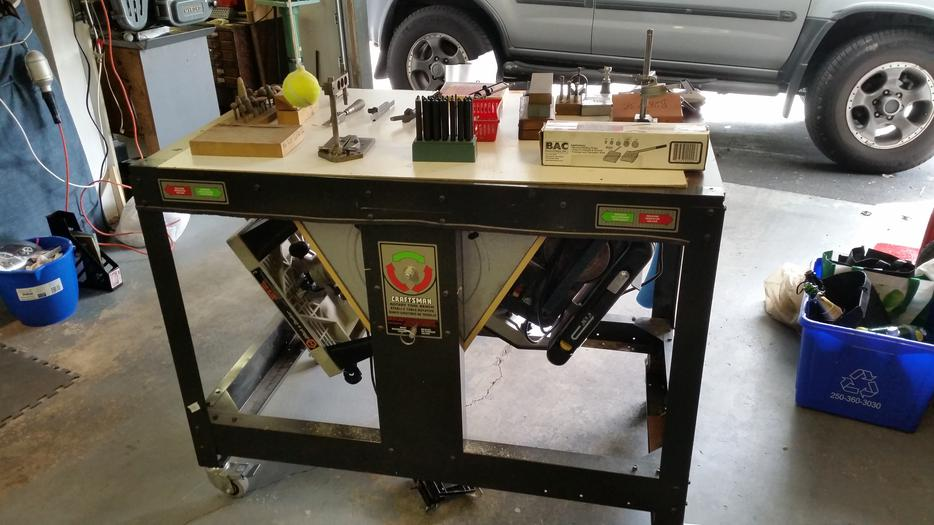 Craftsman Rotary Tool Bench Victoria City Victoria