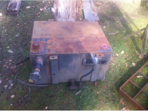 Fuel or Hydraulic tank
