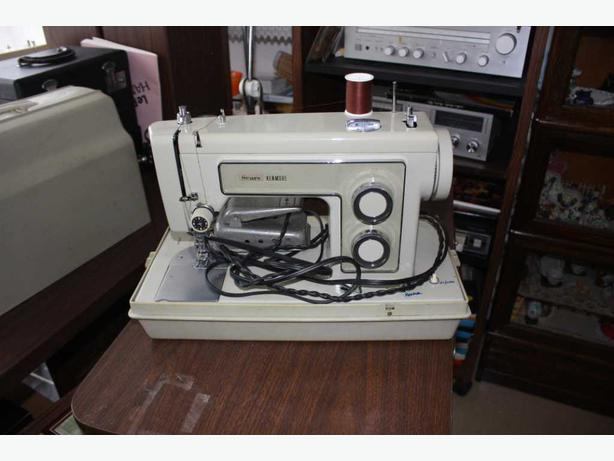 sears best kenmore sewing machine