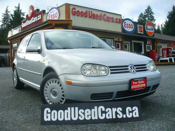 2000 Volkswagen Golf - 4 Cylinder 5 speed manual! Outside Comox Valley ...