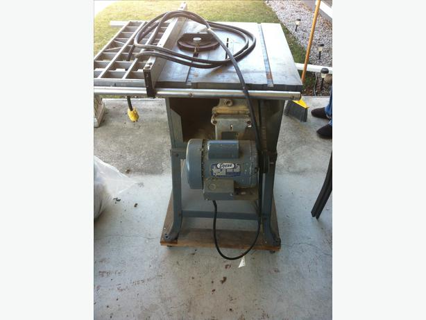 Delta rockwell 10 inch table saw kelowna kelowna for 10 inch delta table saw