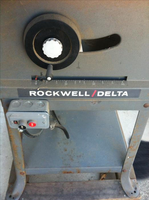 Delta rockwell 10 inch table saw kelowna okanagan for 10 inch delta table saw