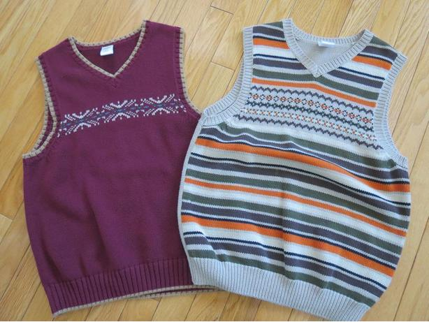 BOYS GYMBOREE SIZE 10-12 VESTS