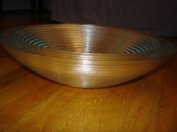 SOLD~Beautiful Pair of Large Glass Serving Bowls, Great for Home or Cottage!