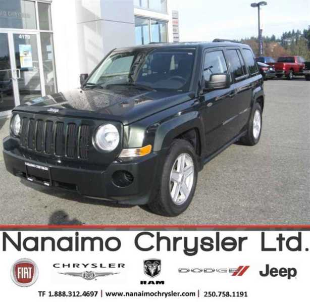 2010 jeep patriot outside cowichan valley cowichan. Black Bedroom Furniture Sets. Home Design Ideas