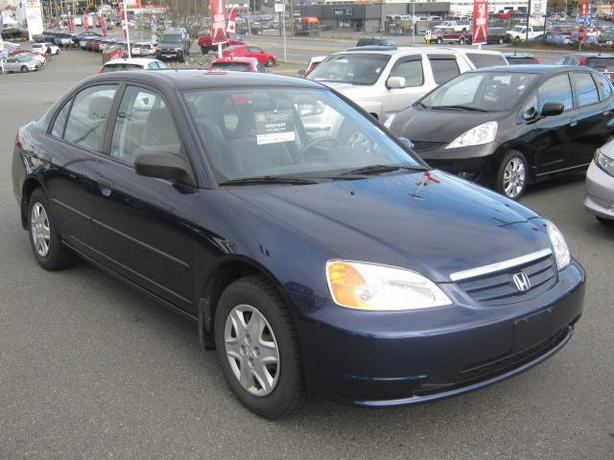 2003 honda civic sdn dx central nanaimo parksville. Black Bedroom Furniture Sets. Home Design Ideas