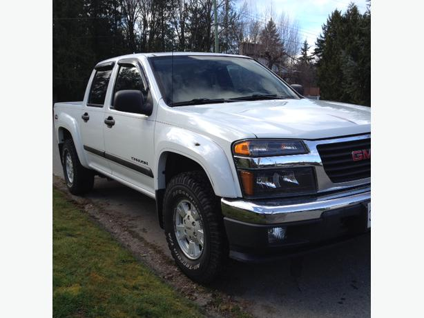2004 gmc canyon crew cab 4x4 for sale duncan cowichan. Black Bedroom Furniture Sets. Home Design Ideas