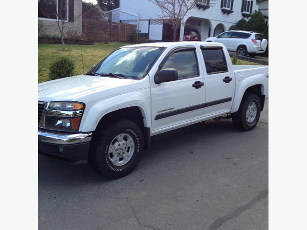 2004 gmc canyon crew cab 4x4 for sale duncan cowichan mobile. Black Bedroom Furniture Sets. Home Design Ideas