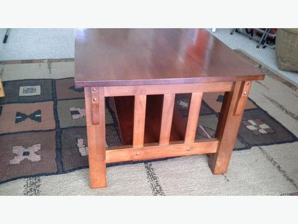 Shaker Coffee Table Mission Style Duncan Cowichan