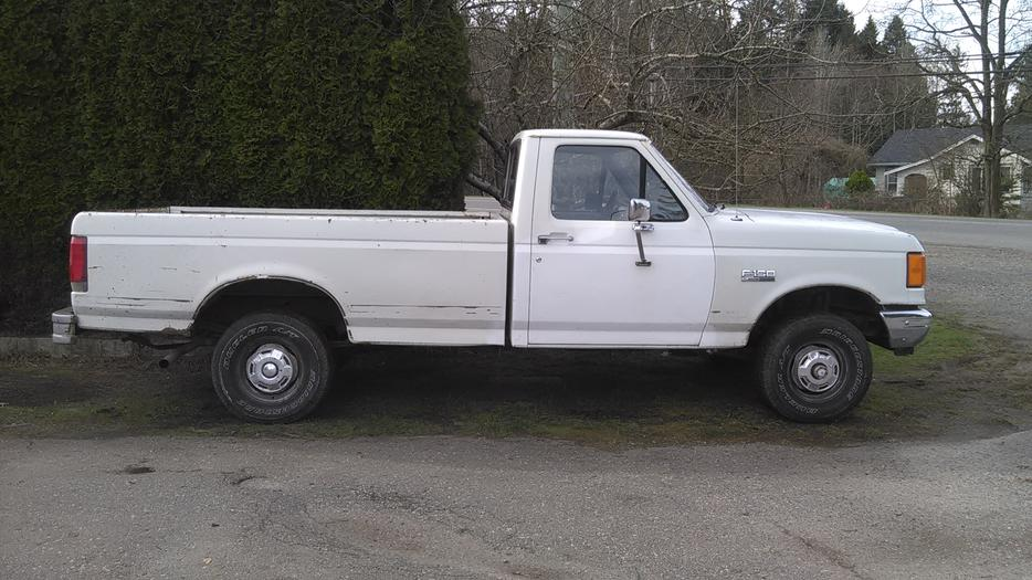 89 ford f150 4x4 for 2000obo parksville nanaimo. Black Bedroom Furniture Sets. Home Design Ideas