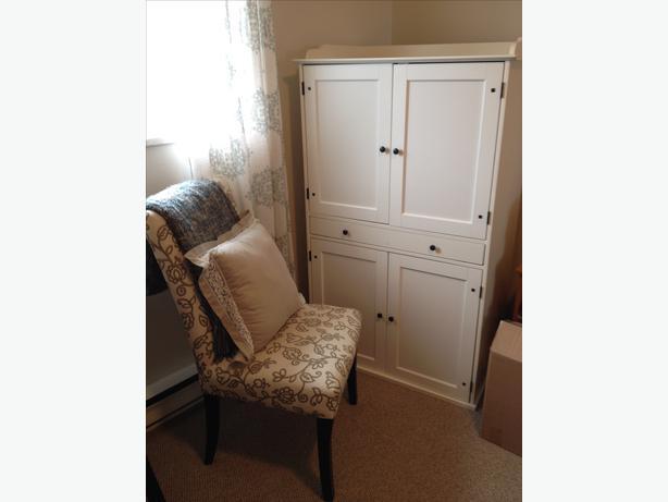 ikea hemnes desk armoire cabinet north saanich sidney. Black Bedroom Furniture Sets. Home Design Ideas