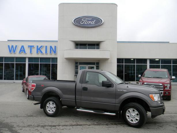 2012 ford f150 stx reg cab 4x4 4l241a vernon okanagan. Black Bedroom Furniture Sets. Home Design Ideas