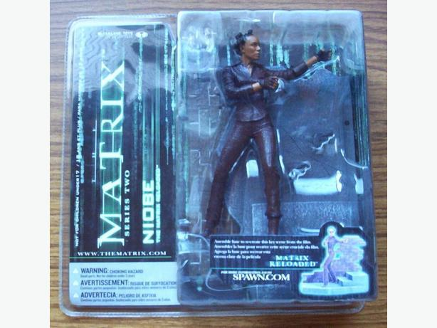 MCFARLANE TOYS : MATRIX SERIES TWO - NIOBE FIGURE (2003)