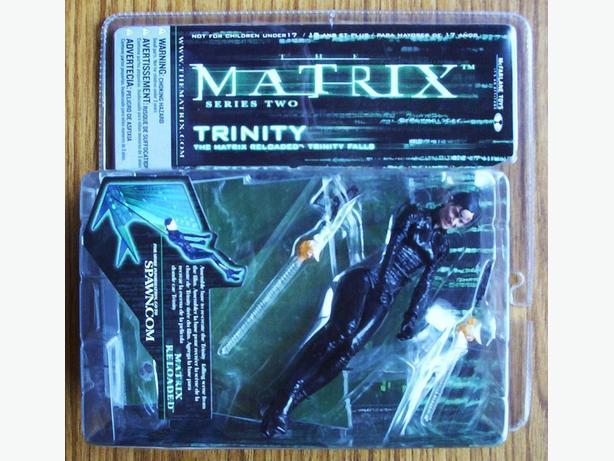 MCFARLANE TOYS : MATRIX SERIES TWO - TRINITY FALLS (2003)