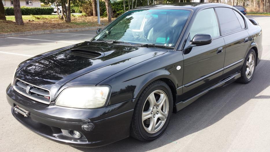 1999 Subaru Legacy B4 Rsk Twin Turbo Outside Nanaimo