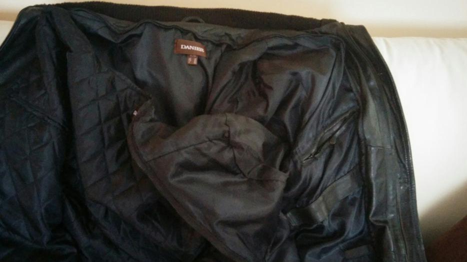 veste de printemps en cuir pour homme danier aylmer sector. Black Bedroom Furniture Sets. Home Design Ideas