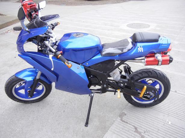 on X19 Pocket Bike