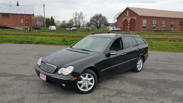 2002 mercedes benz c320 wagon outside nanaimo parksville for Mercedes benz bay ridge