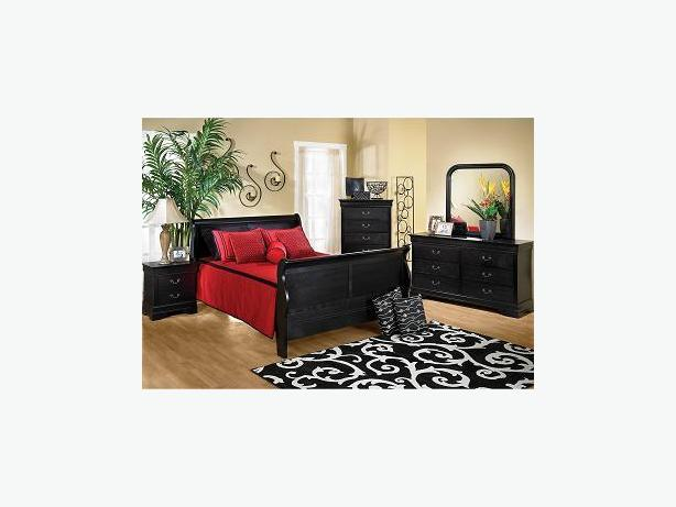 Sleigh Bedroom Set Rent To Own From 100 Mo Victoria City Victoria