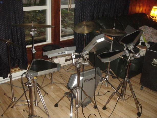 Roland Electronic Drums pd-20 pice cut to 1000