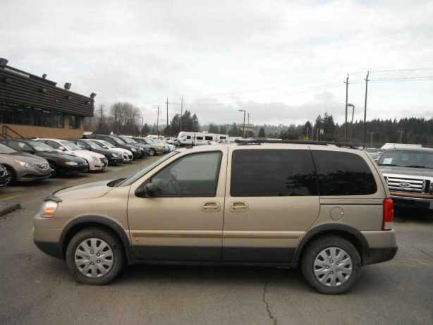 2008 Pontiac Montana Sv6 Outside Comox Valley Courtenay