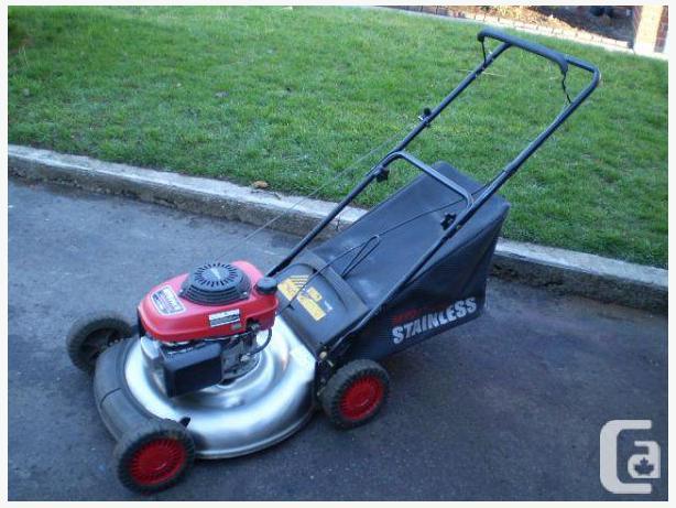 Gently Used Mtd Pro Stainless Steel Lawn Mower Honda Motor