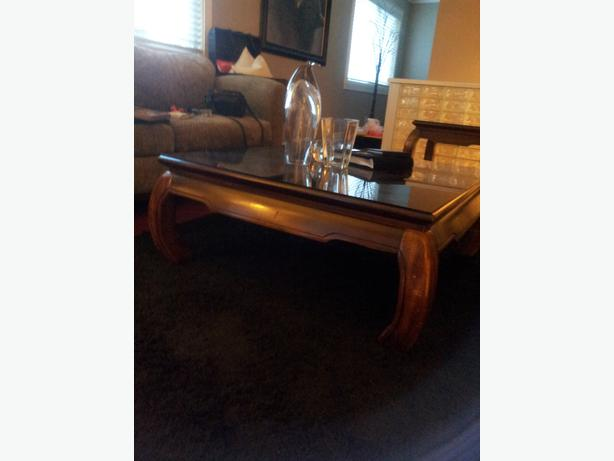Coffee and end tables mirrors pictures west shore for Coffee table 40 x 24