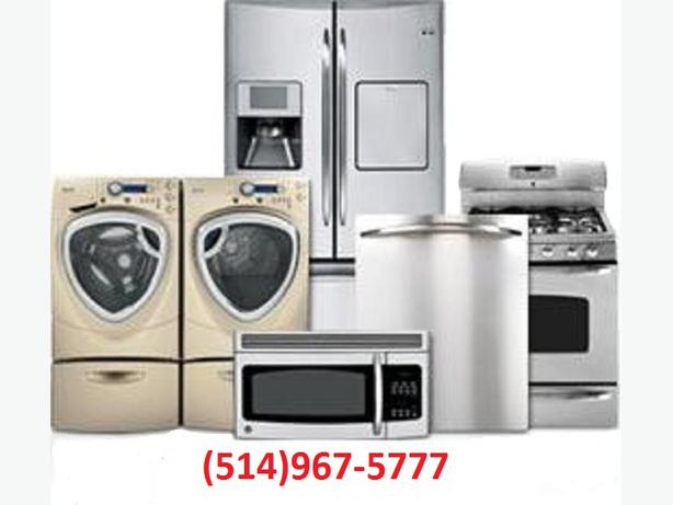 reparation electromenager appliance repair514 967 5777 montreal montreal. Black Bedroom Furniture Sets. Home Design Ideas