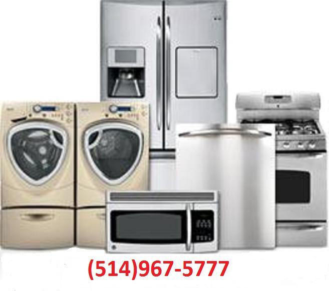 Kitchen Appliances Regina: Reparation Electromenager-appliance Repair514 967-5777