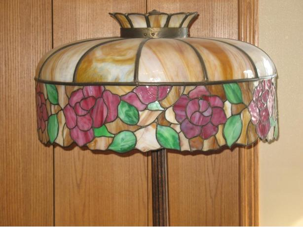 log in needed 650 antique stained glass lamp. Black Bedroom Furniture Sets. Home Design Ideas