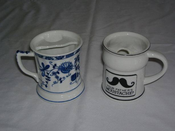 TWO MOUSTACHE MUGS (Comox Valley)
