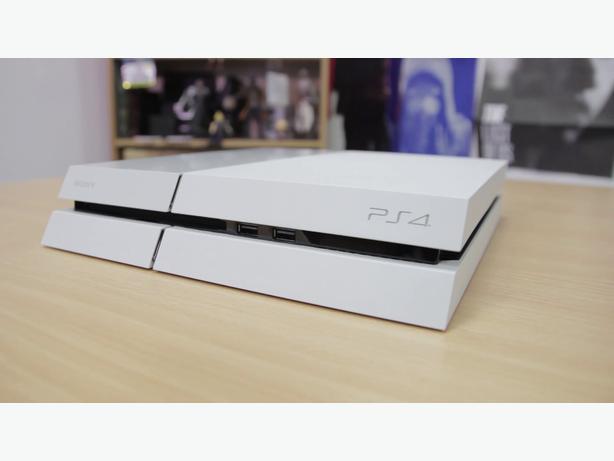 White Destiny PS4 Bundle w/ extra controller Outside ...