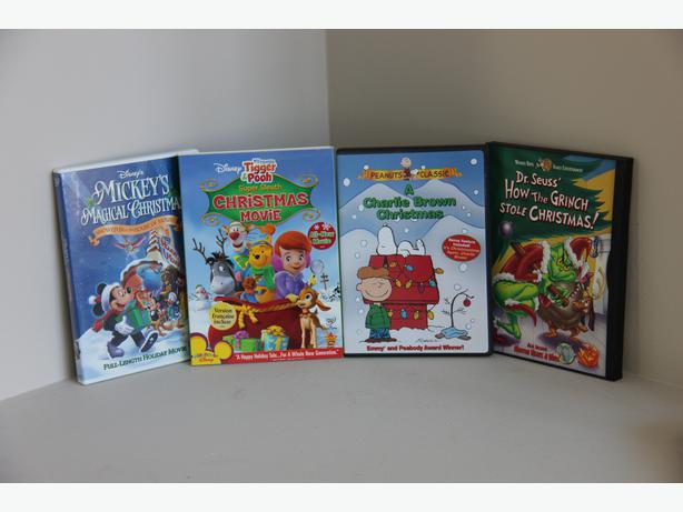 FREE - Christmas DVDs - Set of 4