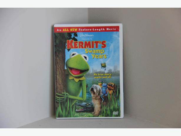 FREE - Kermit's Swamp Years DVD