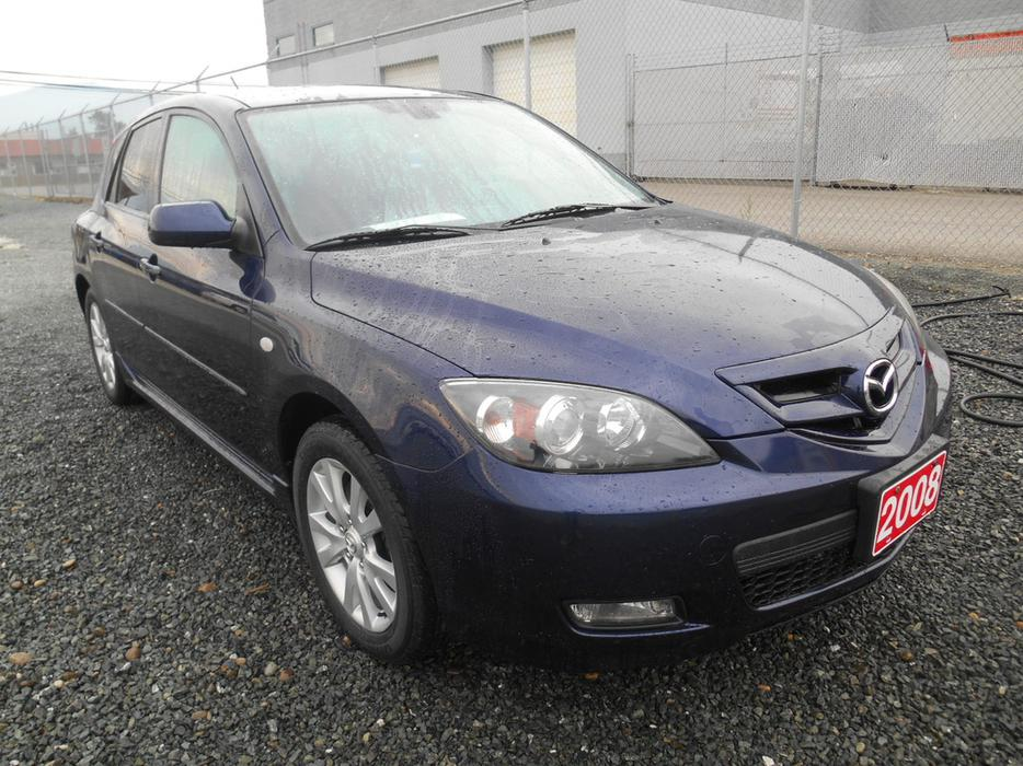 2008 mazda3 4door hatchback new price outside victoria. Black Bedroom Furniture Sets. Home Design Ideas