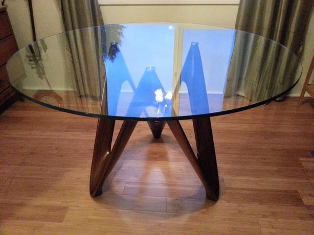 Glass Dining Table Comox Courtenay Comox