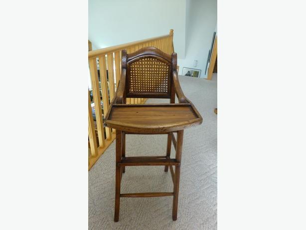 Antique High Chair from Shanghai