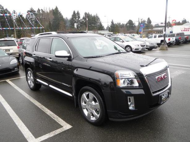 used 2013 gmc terrain denali awd v6 in parksville parksville nanaimo mobile. Black Bedroom Furniture Sets. Home Design Ideas
