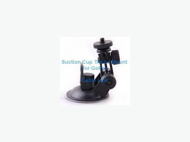 Camera Suction Cup Tripod Mount For GoPro