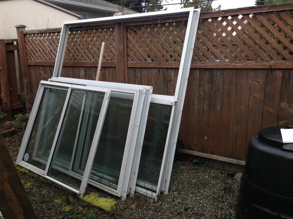Double pane sliders windows sliding glass door qualicum for Double pane sliding glass door