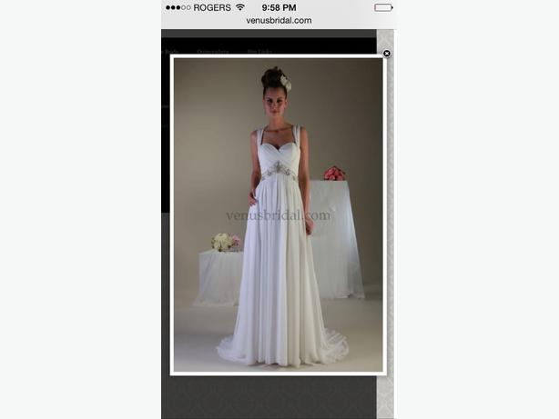 Wedding Dress Alterations Halifax : Venus pallas athena wedding dress purchased from shades of white