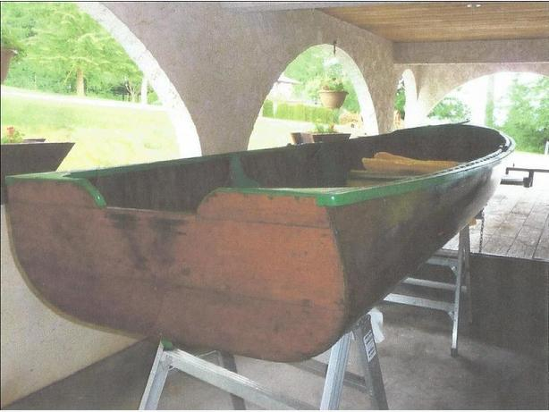 Lapstrake Boat