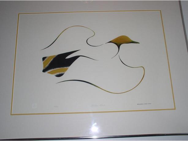 Benjamin Chee Chee's Golden Bird