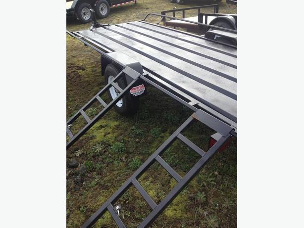 2016 cargocraft 5 x 13 atv trailer 2990 lbs gvw