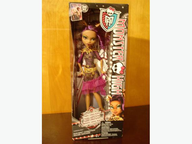 Monster High CLAWDEEN WOLF DOLL Brand New in Box
